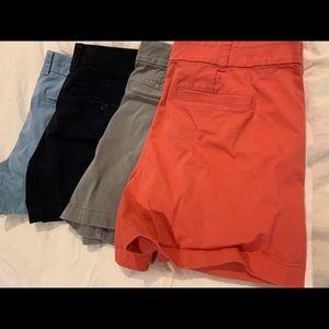 J.crew Chino shorts lot - sz 8